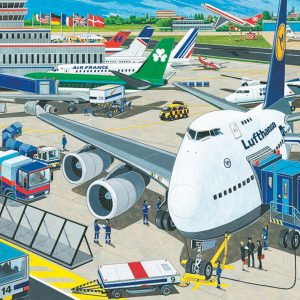 Airport 100 Piece Puzzle