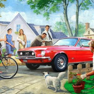 American Classics - The Red Pony 1000 Piece Puzzle