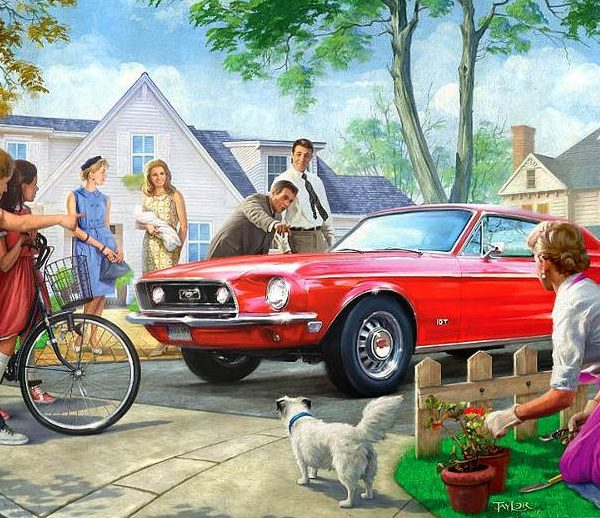 American Classics – The Red Pony 1000 Piece Puzzle