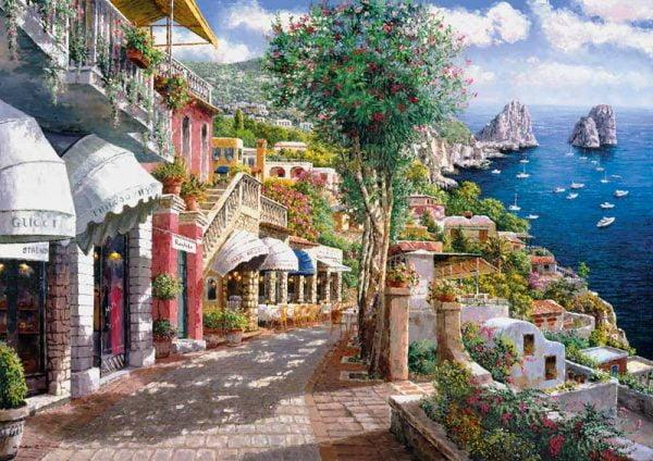 Capri 1000 Piece Clementoni Jigsaw Puzzle
