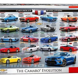 Chevrolet - The Camaro Evolution 1000 Piece Puzzle