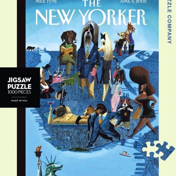 The New Yorker – City Dogs 1000 Piece Puzzle