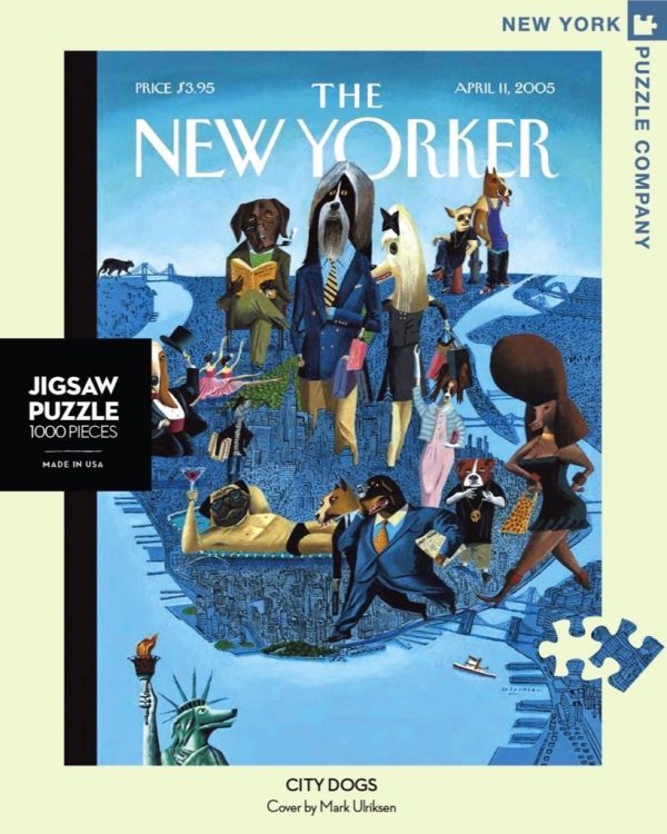 The New Yorker - City Dogs 1000 Piece Puzzle