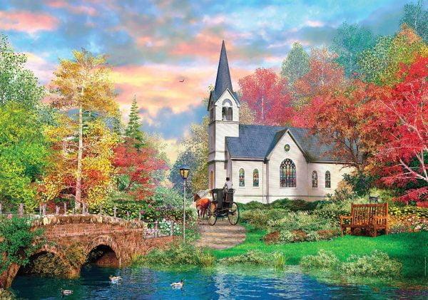 Colorful Autumn 1500 Piece Clementoni Puzzle