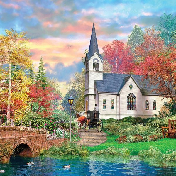 Colorful Autumn 1500 Piece Clementoni Puzzle