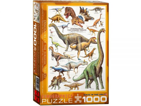 Dinosaurs The Jurassic Period 1000 Piece Puzzle