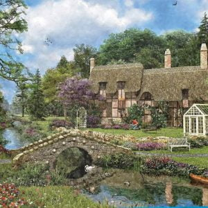 Dominic Davison - Cobble Walk Cottage 1000 Piece Puzzle