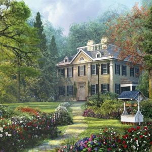 Dominic Davison - Longfellow House 1000 Piece Puzzle