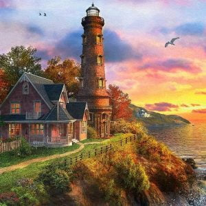 Dominic Davison - The Old Lighthouse 1000 Piece Puzzle