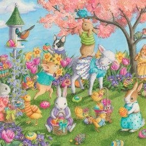 Egg Hunt 35 Piece Jigsaw Puzzle