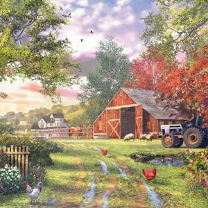 at the Barnyard 1000 Piece Puzzle