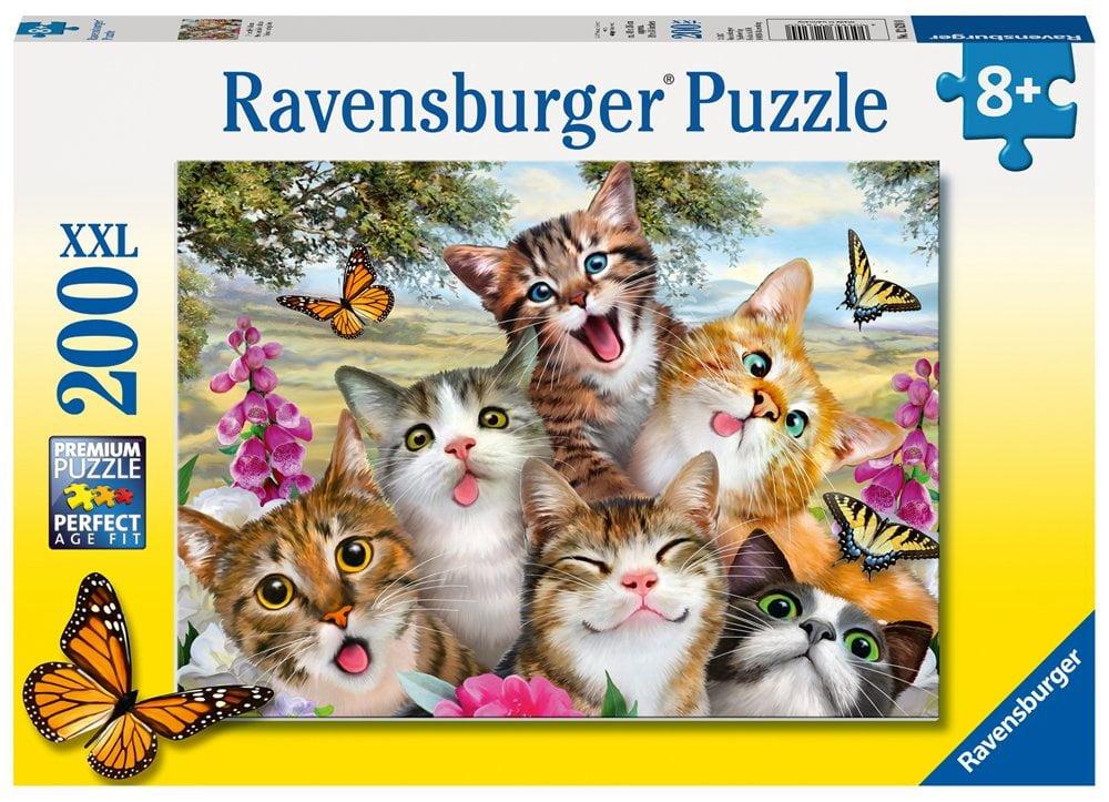 Friendly Felines 200 Piece Ravensburger Puzzle