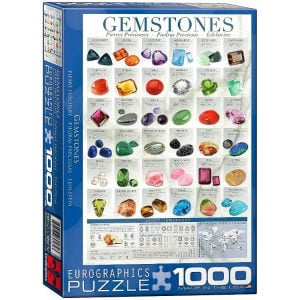 Gemstones 1000 Piece Eurographics Puzzle