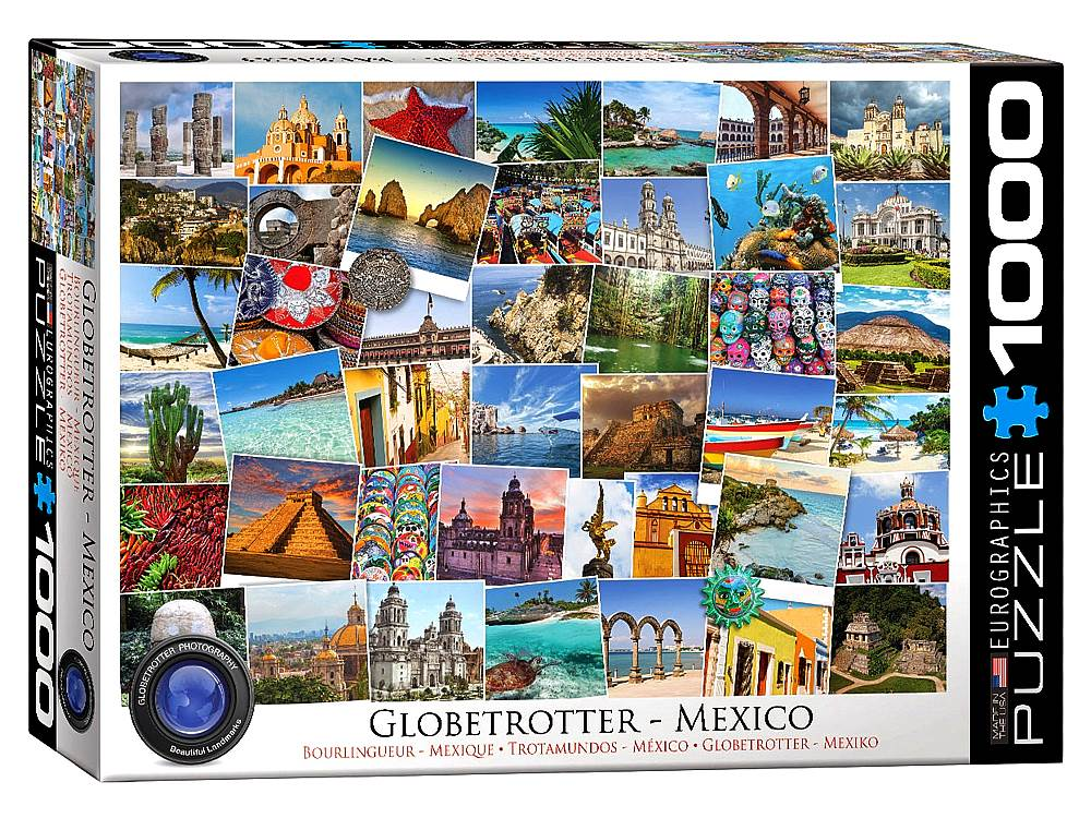 Globetrotter Mexico 1000 Piece Eurographics Puzzle
