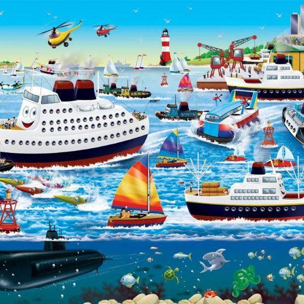 Happy Harbor 35 Piece Ravensburger Puzzle