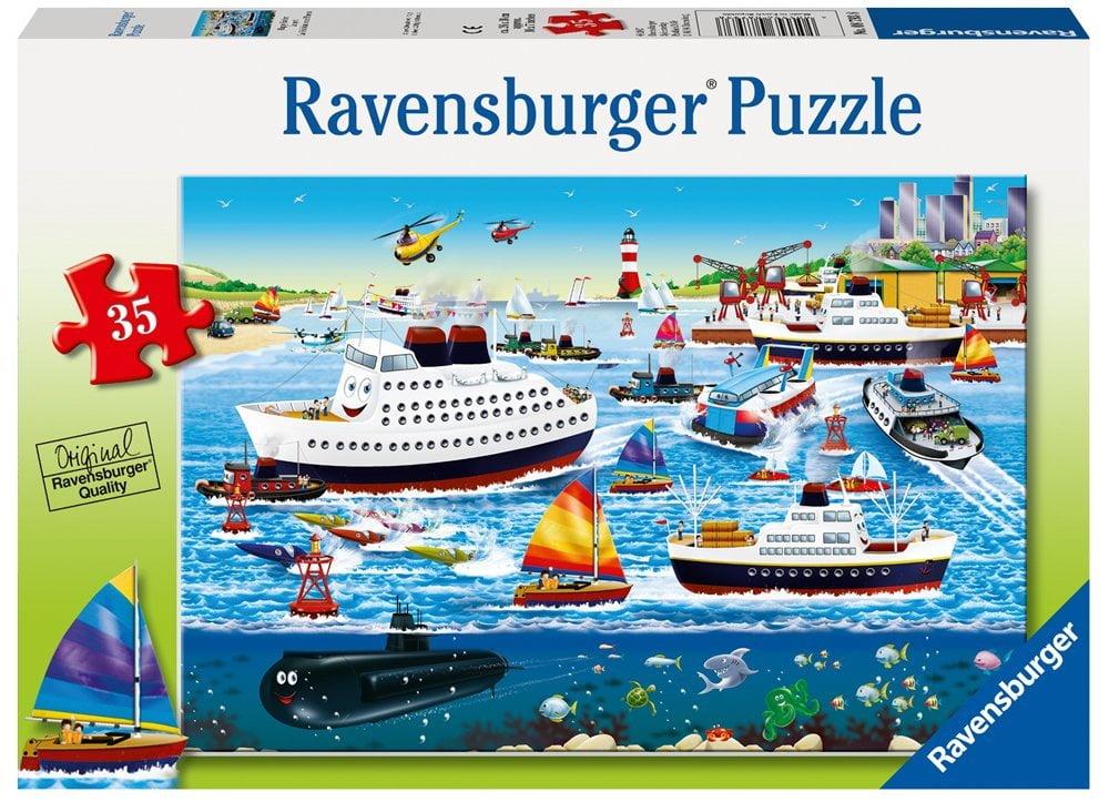 Happy Harbour 35 Piece Ravensburger Puzzle