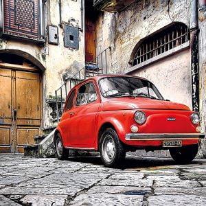 Italian Style Fiat 500 Piece Clementoni Puzzle