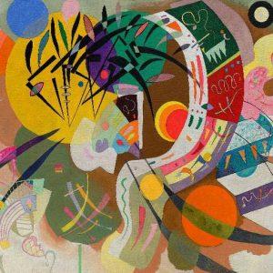 Kandinsky - Dominant Curve 1000 Piece Puzzle