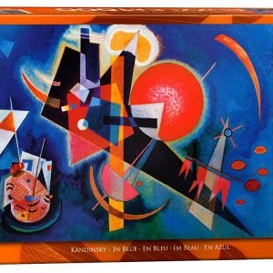 Kandinsky In Blue 1000 Piece Puzzle