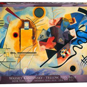 Kandinsky Yellow Red Blue 1000 Piece Puzzle