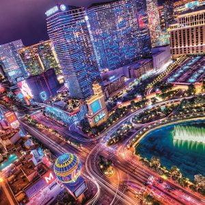 Las Vegas 2000 Piece Clementoni Puzzle