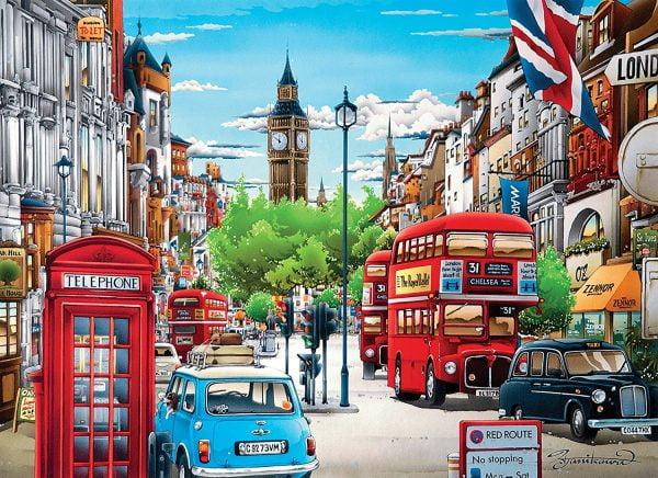London 1000 Piece Clementoni Puzzle