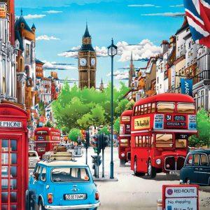 London 1000 Piece Jigsaw Puzzle - Clementoni