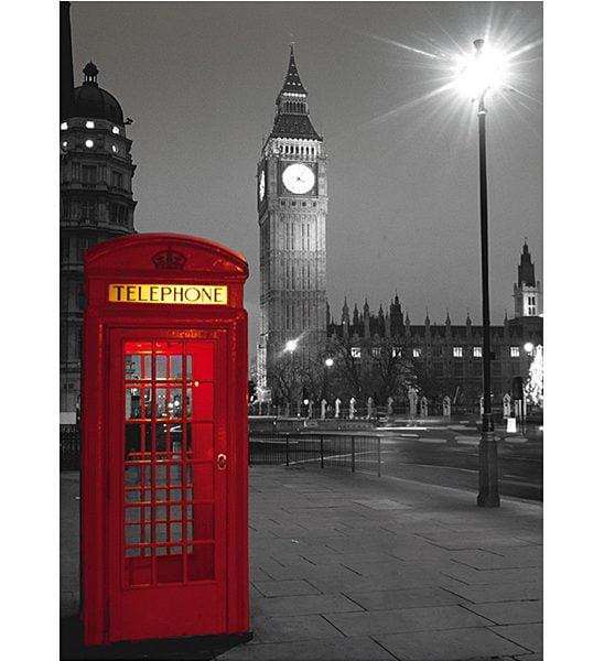 London Phone Box 500 Piece Clementoni Puzzle