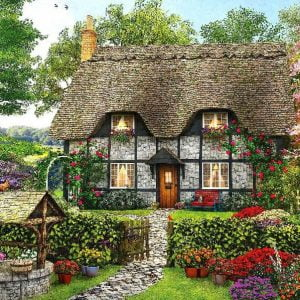 Meadow Cottage 1000 Piece Holdson Jigsaw Puzzle
