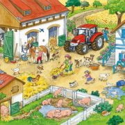 Merry Country Life 2 x 24 Piece Ravensburger Puzzle