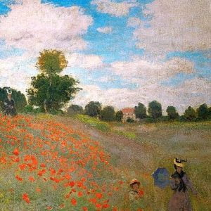 Monet - The Poppy Field 1000 Piece Puzzle