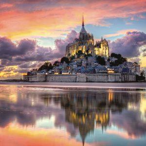 Mont Saint-Michel 1000 Piece Jigsaw Puzzle - Clementoni