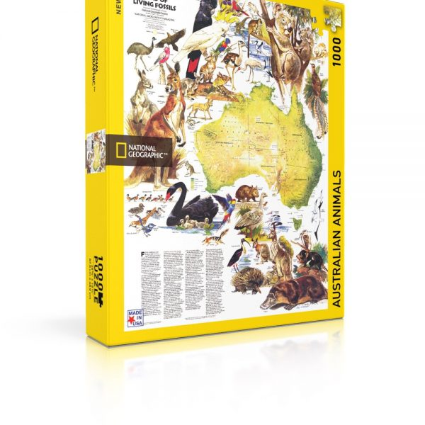 National Geographic Australian Animals 1000 Piece Puzzle