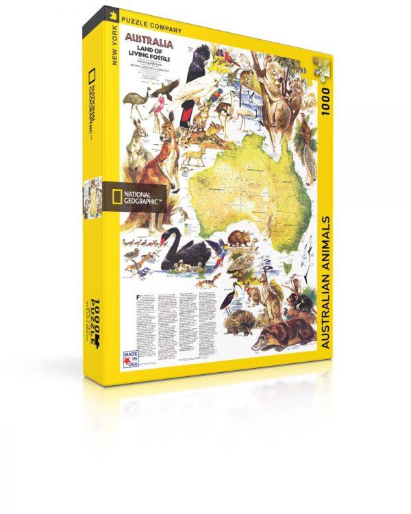 National Geographic Australian Animals 1000 Piece Puzzle