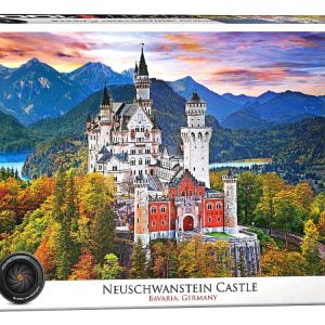 Neuschwanstein Bavaria German 1000 Piece Puzzle