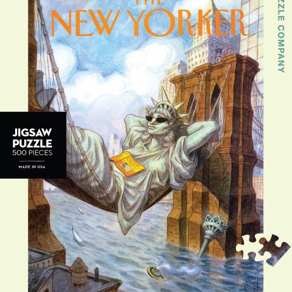 New York Puzzle Company – Liberty 500 Piece Puzzle