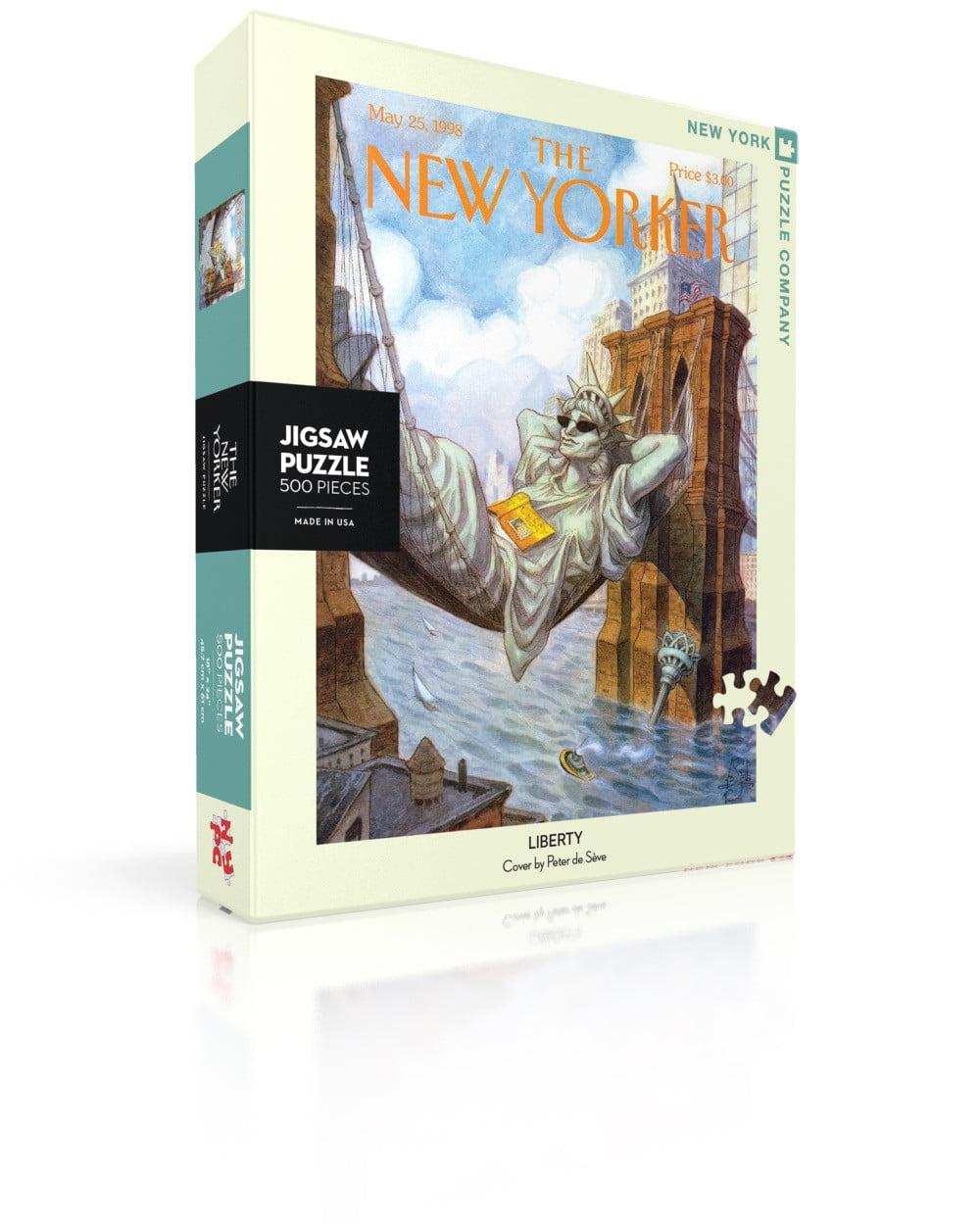 New York Puzzle Company - Liberty 500 Piece Puzzle