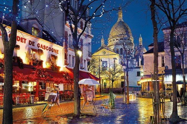 Montmartre 1500 Piece Clementoni Puzzle