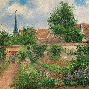 Pissarro - Vegetable Garden Overcast Morning, Eragny 1000 Piece Puzzle