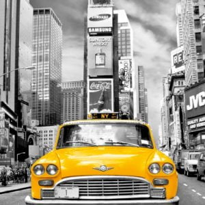 Platinum - New York Taxi 1000 Piece Clementoni Puzzle
