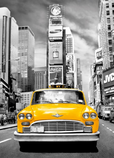 CLEMENTONI PUZZLE - PLATINUM - NEW YORK TAXI 1000 PIECE