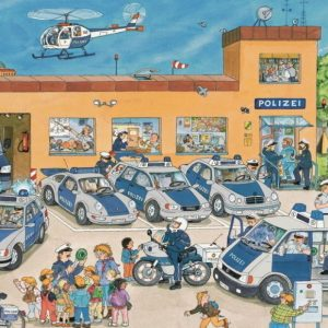 Police District 100 Piece Ravensburger Puzzle