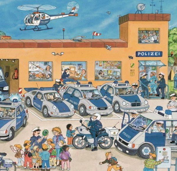 Police District 100 Piece Ravensburger Puzzle