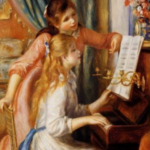 Renoir - Girls at the Piano 1000 Piece Puzzle