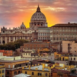 Rome at the Sunset 1000 Piece Jigsaw Puzzle