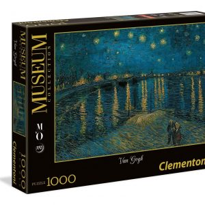 Starry Night on the Rhone 1000 Piece Clementoni Puzzle