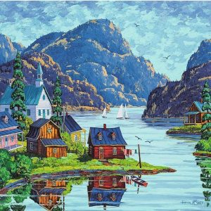 The Saguenay Fjord 1000 Piece Puzzle