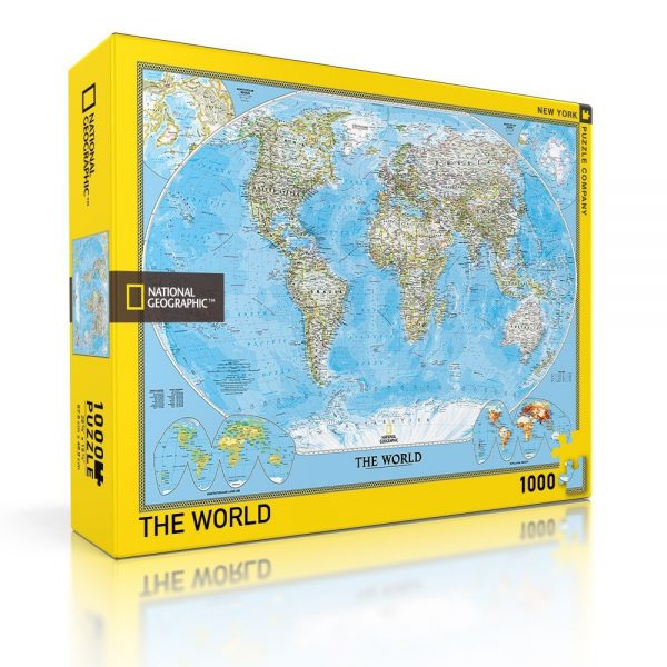 The World 1000 Piece Puzzle