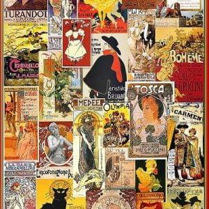 Theatre & Opera Vintage 1000 Piece Puzzle