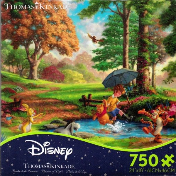 Thomas Kinkade – Winnie the Pooh 750 Piece Puzzle